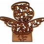 Paquete De Angelitos O Cruces Con Oración Mdf - Reloj Gratis