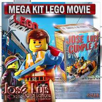 Lego La Gran Aventura Invitaciones Kit Imprimible Jose Luis