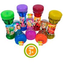 10 Divertidas Burbujas Personalizadas Colores Variados