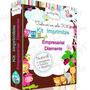 Kit Imprimible Empresarial Oro + Candy Bar + Kits Cumpleaños