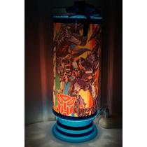 Transformers Centros De Mesa,recuerdos,lamparas 1regalo