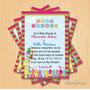 Kit Imprimible Baby Shower Girafa + Candy Bar Personalizado