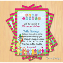 Kit Imprimible Baby Shower Girafa + Candy Bar Personalizado