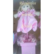 Centro De Mesa Bailarina Bolo Recuerdo Hada Angel Fiesta