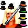 20 Sombreros Mini Bombín Negro