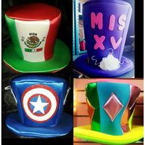 Sombrero Locos (de Tela), Para Batucadas, Fiestas Y Eventos