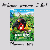 Kit Imprimible Angry Birds La Pelicula Cumple+candy Imagenes