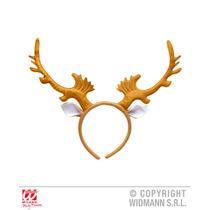 Traje De La Navidad - Reno Cuernos Festiva Rudolph Fantasía