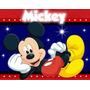 Kit Imprimible Mickey Mouse Diseñá Invitaciones Modernas