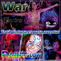 Glow Pintura Corporal Neon Fluorescente Body Paint