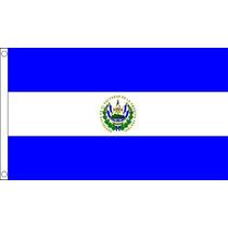 Bandera De El Salvador - Salvadoreña 3ftx 2ft Nacional País