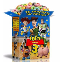 Kit Imprimible 2x1 Toy Story Con Textos 100% Editable Invita