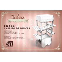 Carrito Dulcero Vintage Mesa De Dulces