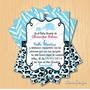 Kit Imprimible Baby Shower Girafa Animal Print + Candy Bar