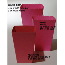 Cajas Palomitas Para Mesa De Postres V/ Colores Y Tamaños