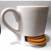 Taza Guardagalletas De Ceramica