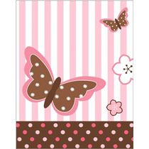 Kit Imprimible Mariposas Tarjetas Cumple Nena Invitaciones