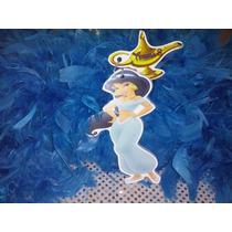12 Invitacion Con Cadenita Princesa Jazmin