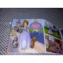 12 Invitaciones Comic Princesa Sofia Tipo Historieta Nuevas!