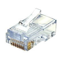 Plug Conector Rj45 Para Cable Red Utp Cat 5e 100 Piezas Sp0
