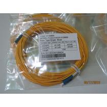 Lote De Cables De Fibra Optica 10mts