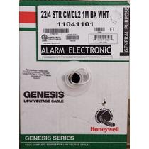 Bobina De Cable De 4 Conductores Para Alarmas Honeywell