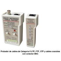 Tester, Probador Cable D/red, Telefónico, Utp, Rj45, Ftp