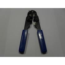 Pinzas Ponchadora Plug Rj-45 Cable Utp Red Crempadora Metal