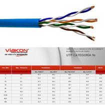 Cable Par Trenzado Marca Viakon Cat. 5 Blindado