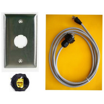 Hubbell: Patchcord, Faceplate, Jack Industrial Hi5e Uso Rudo