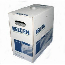 Cable De Red Utp Ethernet Belden Cat5e, 305mts Blanco Oferta