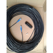 Jumper 25 Mts 1 Fibra Optica Multimodo