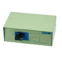 Dtc - Generico - Multiplexor Manual Usb 1 Dispositivo A 2 Pc