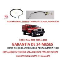 Mangueras Direccion Hidraulica Caja/licuadora Dodge Ram 4500