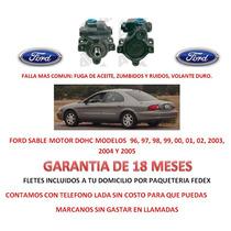 Bomba Licuadora Direccion Hidraulica Ford Sable Dohc Rm4