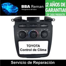 Toyota Highlander Tablero Control Clima Ac Reparación