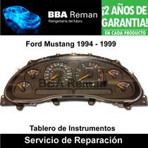 Ford Mustang 1994 1999 Tablero De Instrumentos Reparacion
