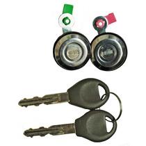 Cilindro Chapa Puerta Nissan Pu D22 08-14 Juego De 2+ Regalo