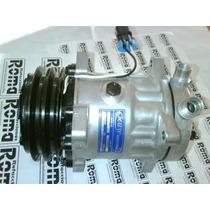 Compresor Universal Nuevo Sd7h15 Polea 2 Ranuras