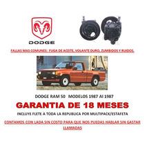 Bomba Licuadora Direccion Hidraulica P/caja Dodge Ram 50 Lbf