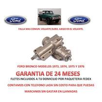 Caja Direccion Hidraulica Sinfin P /bomba Ford Bronco