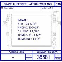 Radiador Grand Cherokee 4.7 Lts 2000 2001 2002 2003 2004