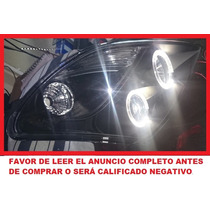 Faro Con Lupa Y Leds Ojo De Angel Eyes Suzuki Swift 01-11
