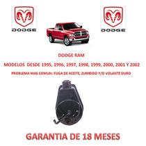 Bomba Licuadora Direccion Hidraulica Dodge Ram 1995-2000