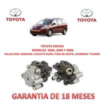 Bomba Direccion Hidraulica Licuadora Toyota Sienna 2004-2006