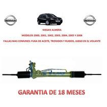 Caja Direccion Hidraulica Cremallera P/ Bomba Nissan Almera