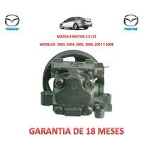 Bomba Licuadora Direccion Hidraulica P/caja Mazda 6 2.3 Lts