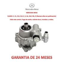 Bomba Licuadora Dirección Hidráulica P/caja Mercedes Benz