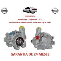 Bomba Licuadora Dirección Hidráulica Nissan Sentra 2.0 Lts.