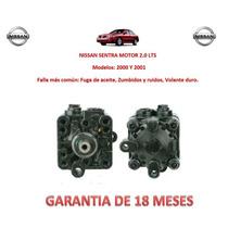 Bomba Licuadora Dirección Hidráulica P/caja Nissan Sentra
